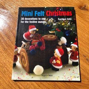 Mini Felt Christmas Craft Book